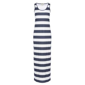 Michael Kors Rugby Striped Maxi Dress - M